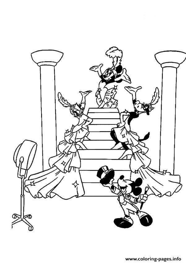 Mickey Adores Minnie Disney 666d coloring pages