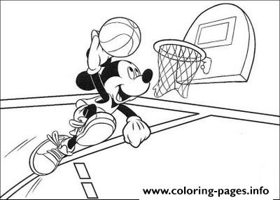 Mickey Making A Score Disney A0b0 coloring pages
