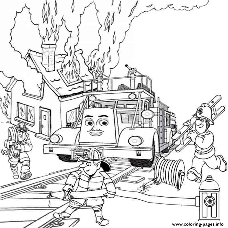 Thomas The Train Flynn Se838 Coloring Pages Printable