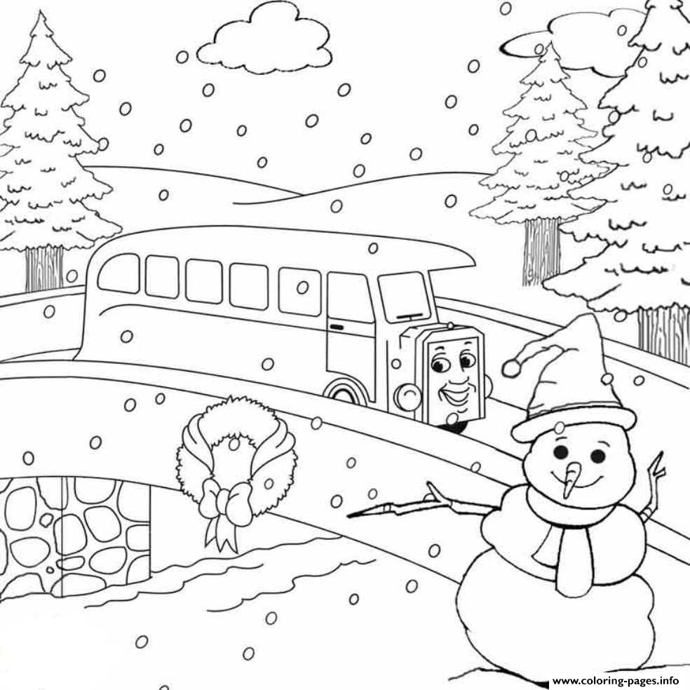 Christmas Train Color by Number - Get Coloring Pages | 984x984