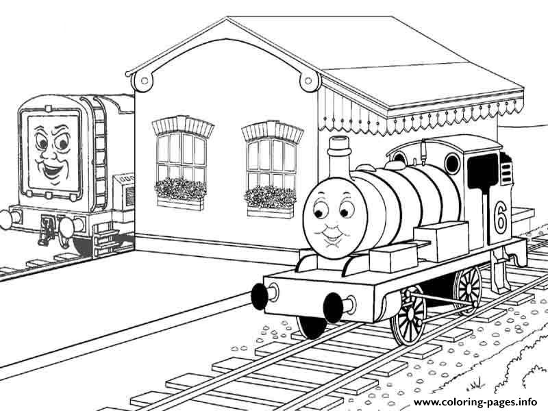 Thomas The Train Colouring Pages Print0506 Coloring