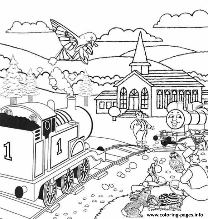 Easter Full Page Thomas The Train