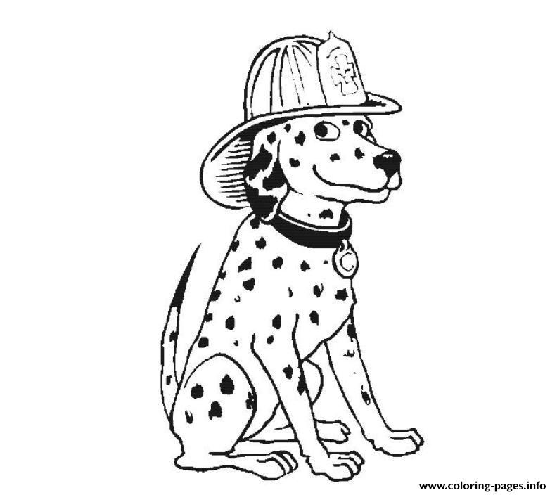 photograph relating to Dalmation Printable called Dalmatian Hearth Puppy Sf2a7 Coloring Webpages Printable
