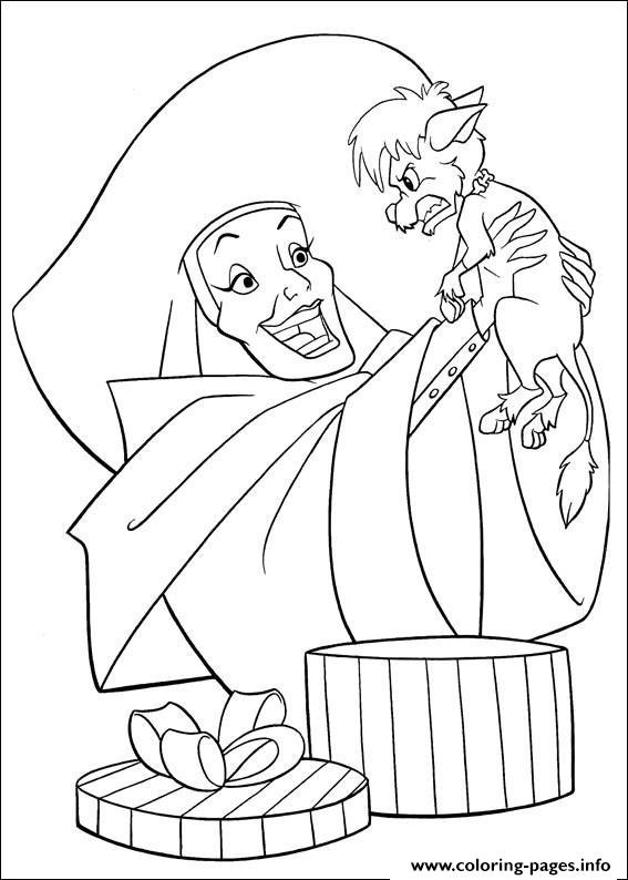 Cruella With Puppy 101 Dalmatian Sd09d coloring pages