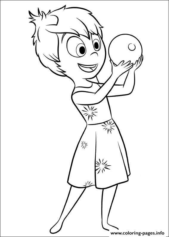 Inside Out 07 Coloring Pages Printable