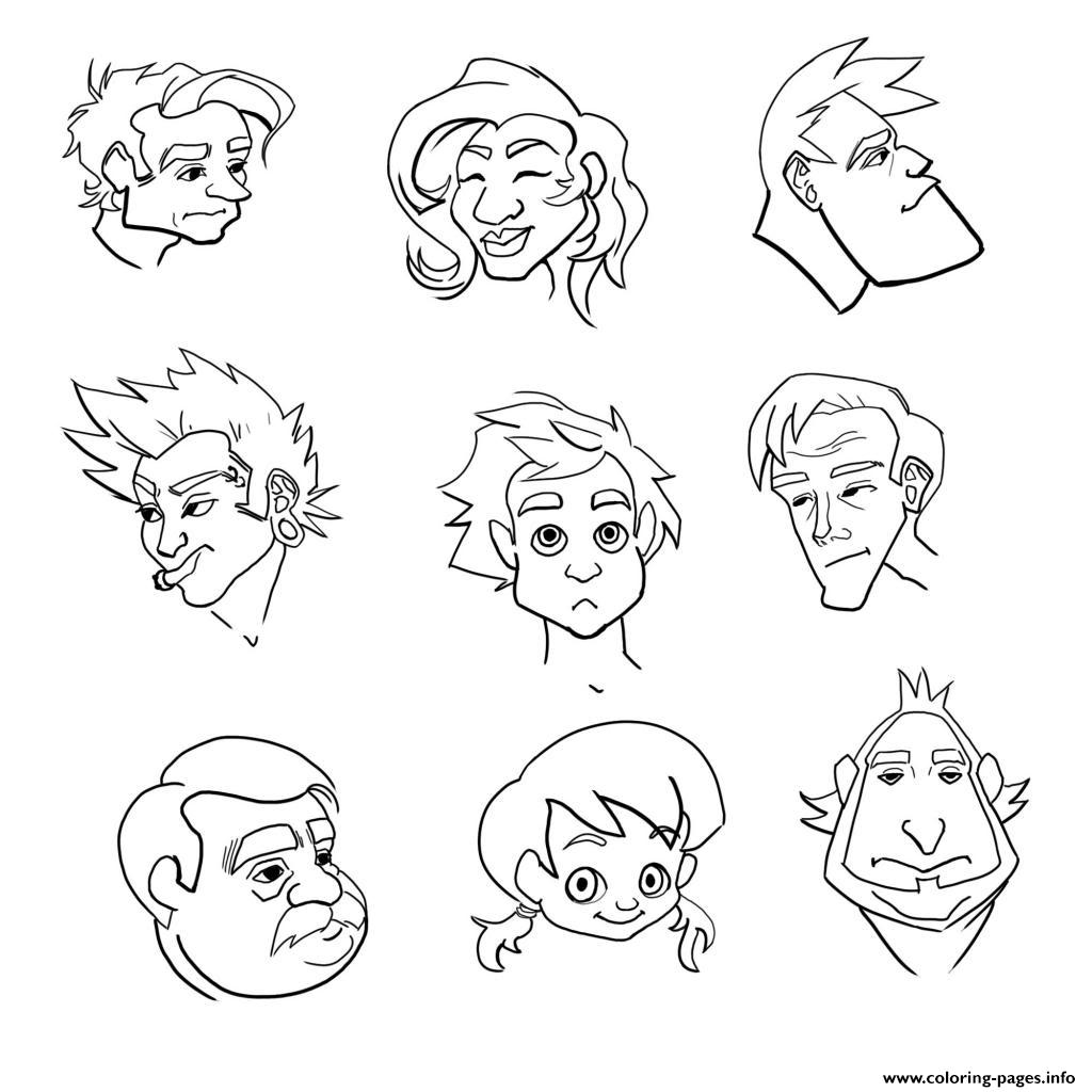 Emotions coloring pages printable for Feeling coloring pages