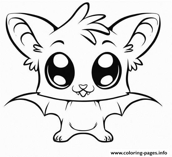 Cute Coloring Pages Of Animals Printable