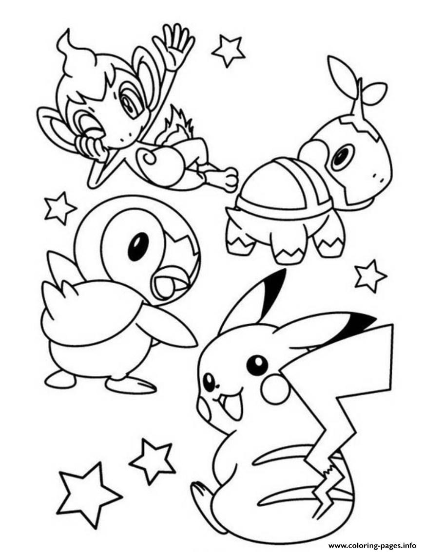 Cute Pokemon Pikachu S0e7f coloring pages