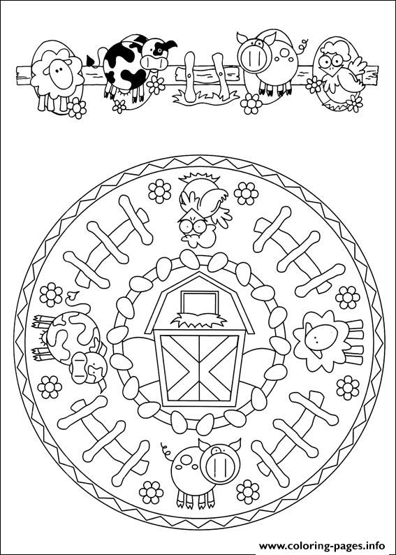 Simple Free Mandalas 38 coloring pages