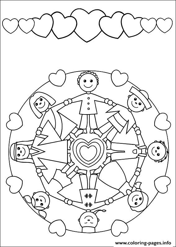 Easy Simple Mandala 56 coloring pages