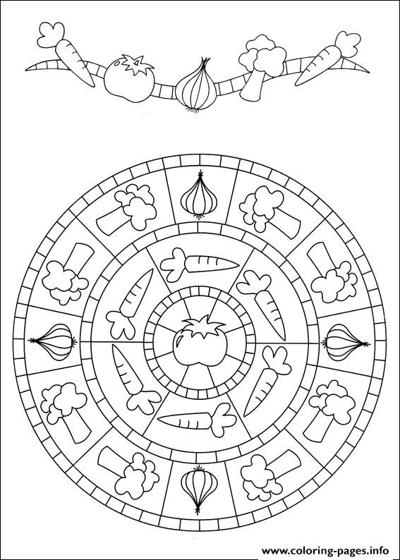 Simple Free Mandalas 39 coloring pages