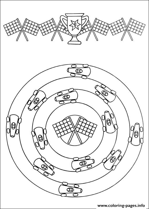 Easy Simple Mandala 57 coloring pages