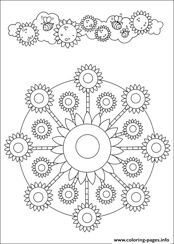 Simple Free Mandalas 45 coloring pages