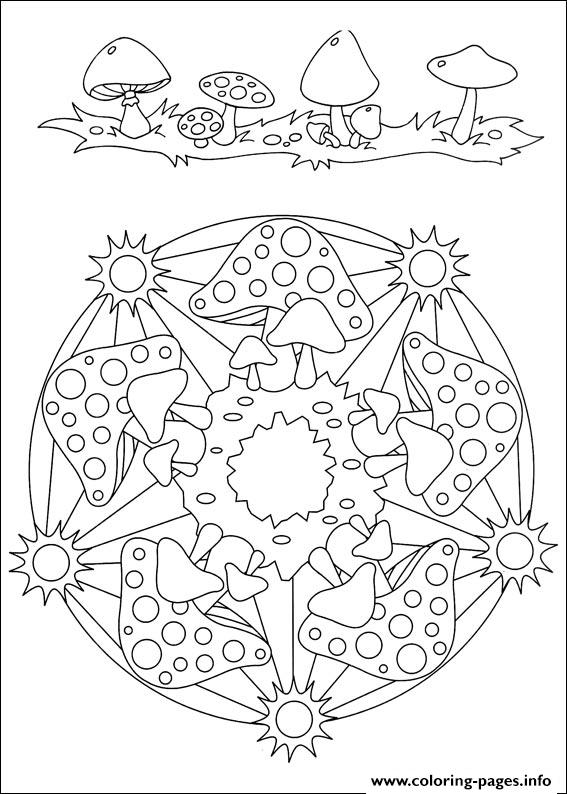 Simple Free Mandalas 34 coloring pages