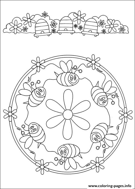 Simple Free Mandalas 32 coloring pages