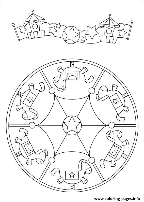 Simple Free Mandalas 35 coloring pages