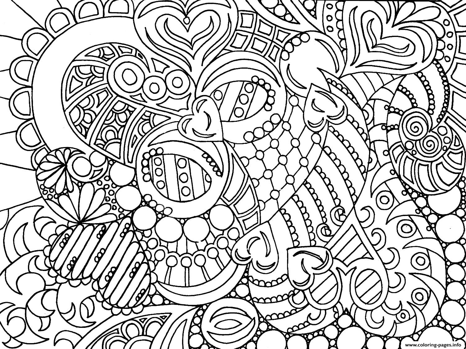 very cool colouring for adult coloring pages