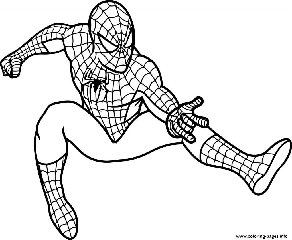 Spiderman Cartoon S5c07 Coloring Pages Printable