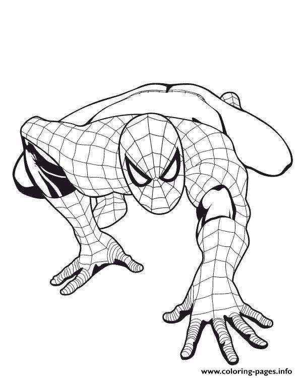 Spiderman S For Boys5fe1 Coloring Pages Printable