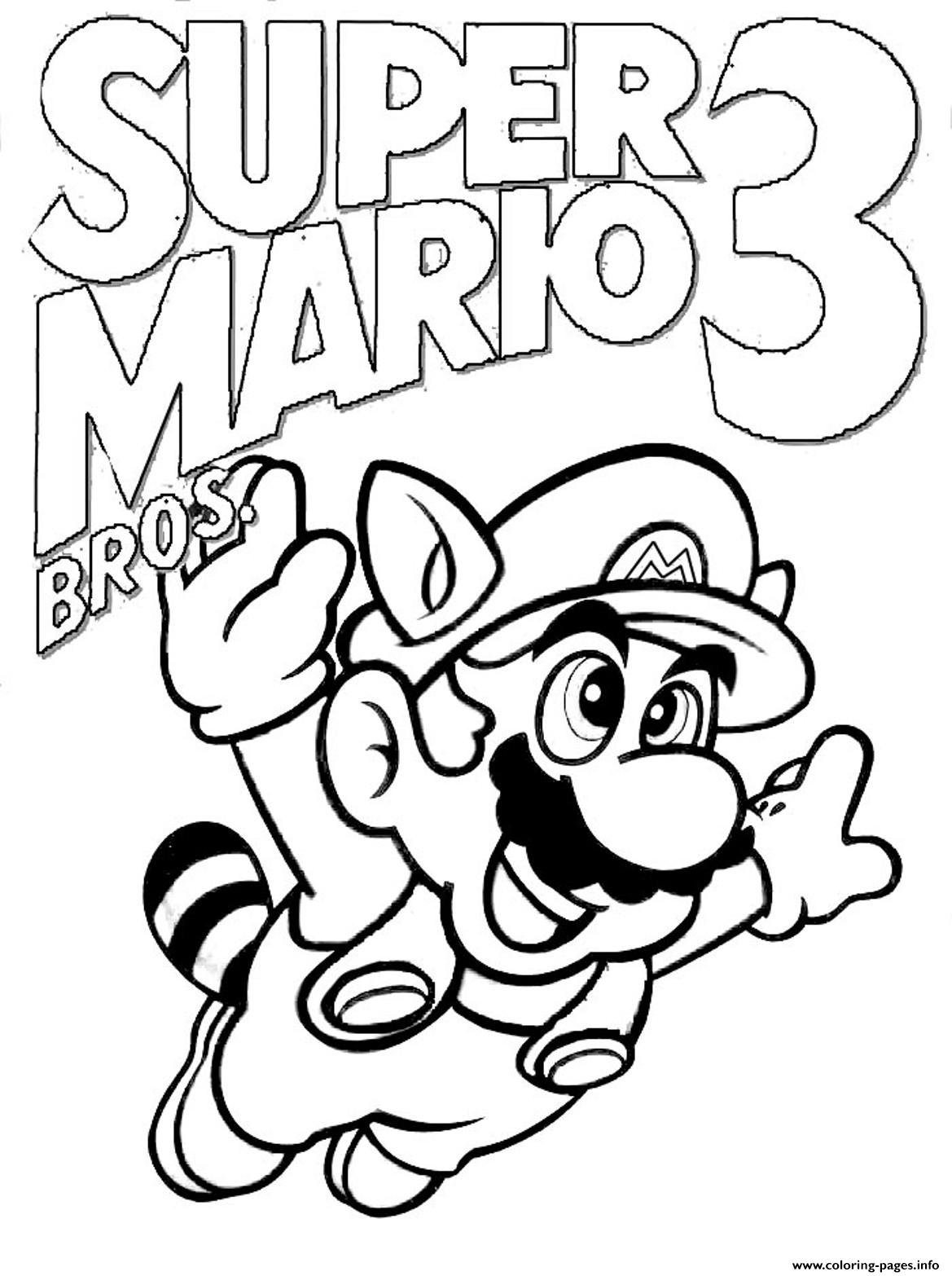 super mario bros s version 32c9a coloring pages printable