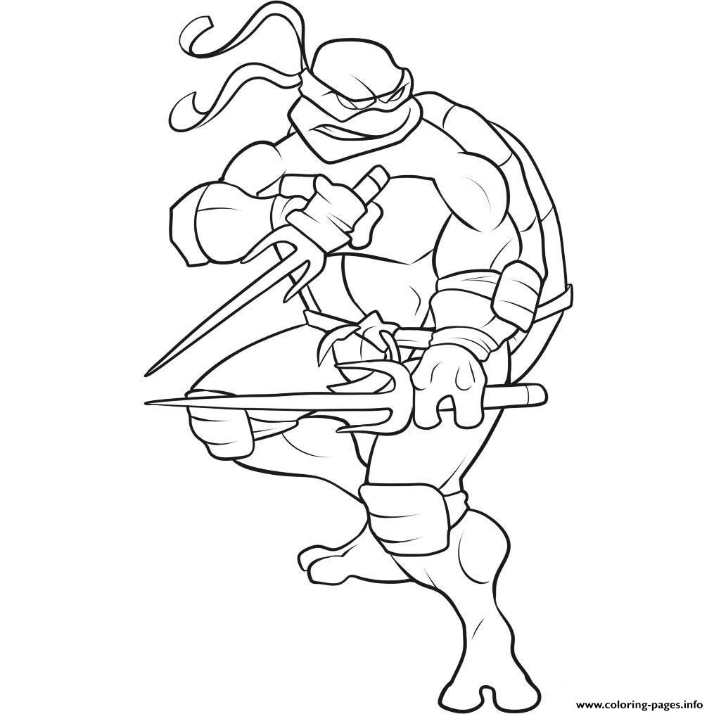 Free Superhero S Ninja Turtle Cool0660 Coloring Pages Printable