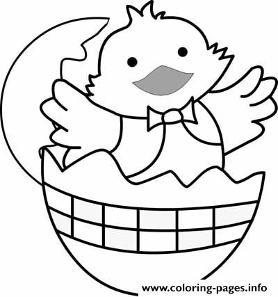baby chick preschool s easter859f Coloring pages Printable