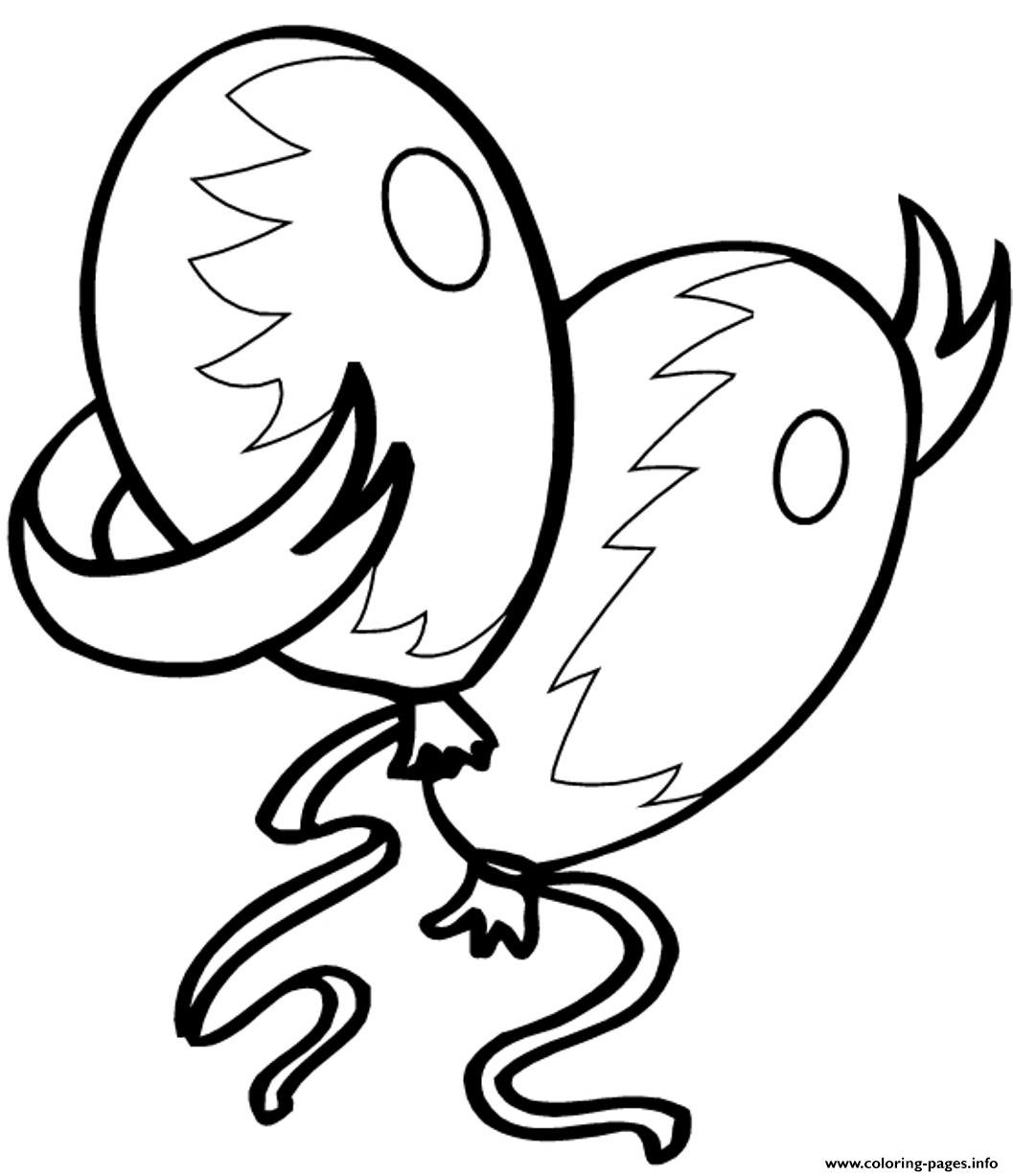 Birthday S For Kids Balloonsd151 coloring pages