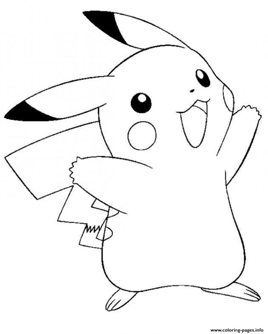 Pikachu S For Kidsc686 coloring pages