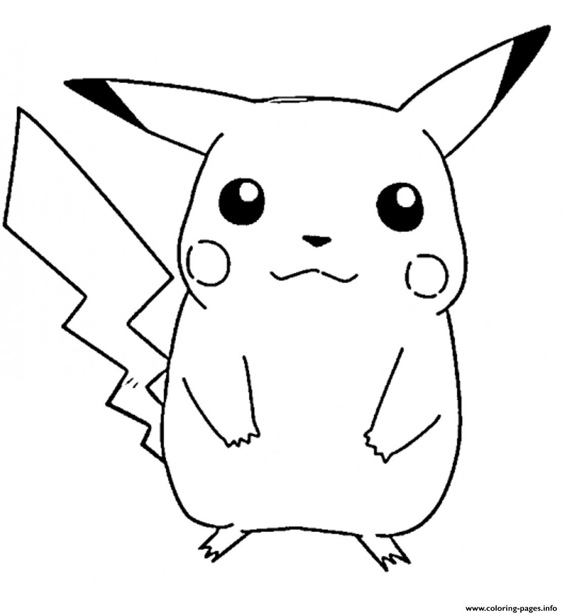 Pikachu S Free46ba coloring pages