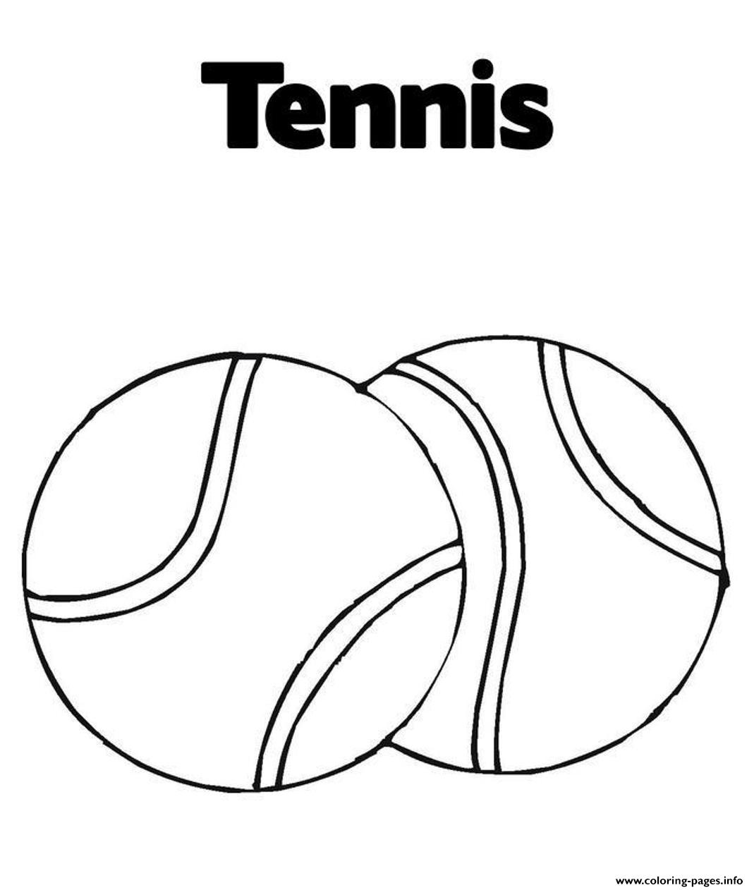 Sports Balls Coloring Pages - Coloring Home | 1262x1069