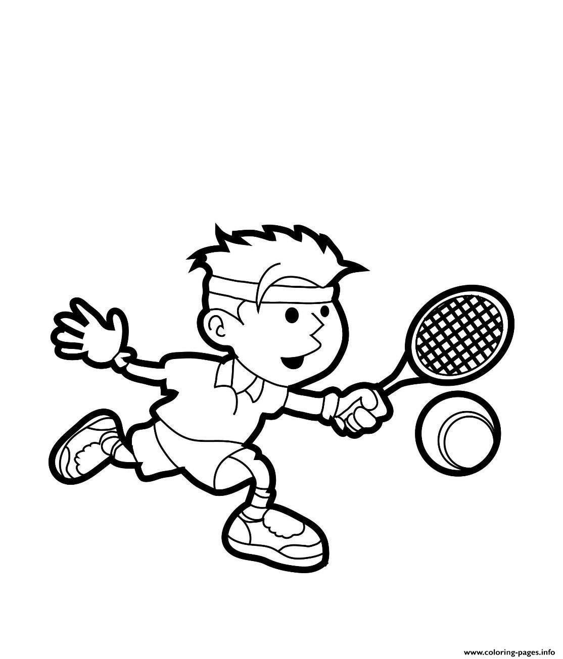 Tennis S Freed668 coloring pages