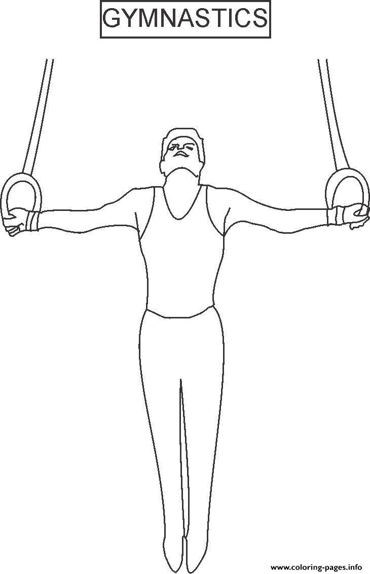 Coloring Pages For Kids Gymnastics Sport487b coloring pages