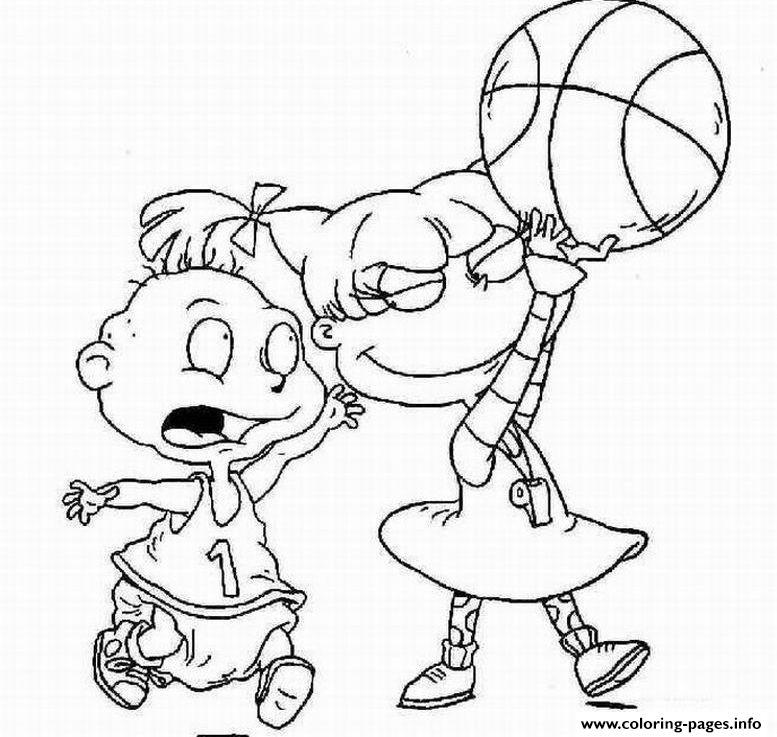 Nick Jr Basketball S3142 Coloring Pages Printable