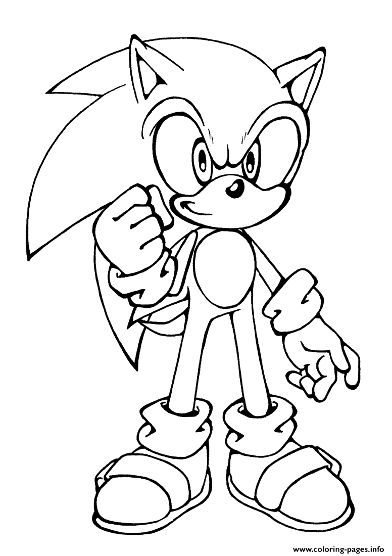 Sonic X Coloring Pages Free Printable Unicorn Coloring Pages For