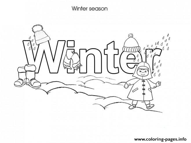 Winter S Free Printableecfa coloring pages