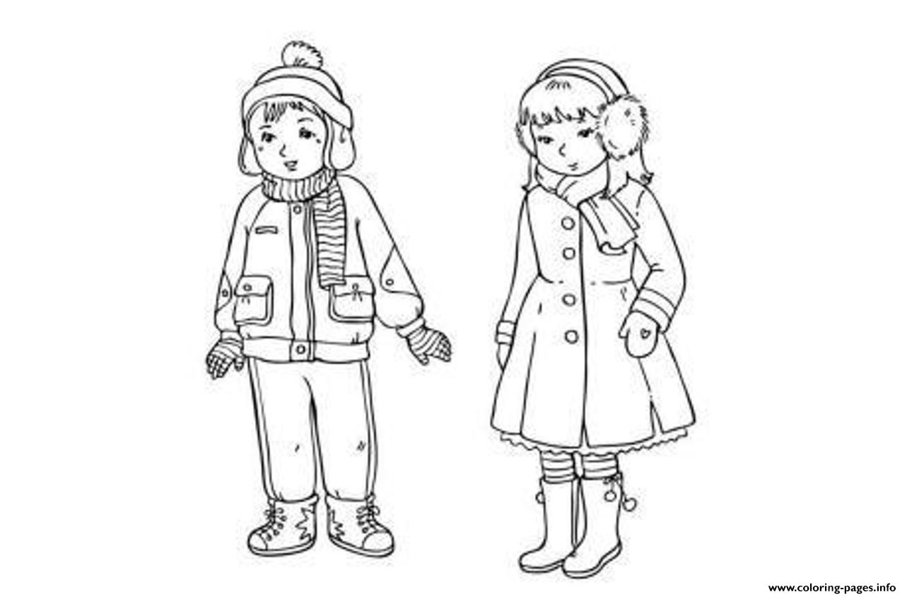 Winter S Clothes For Boy And Girlb04e