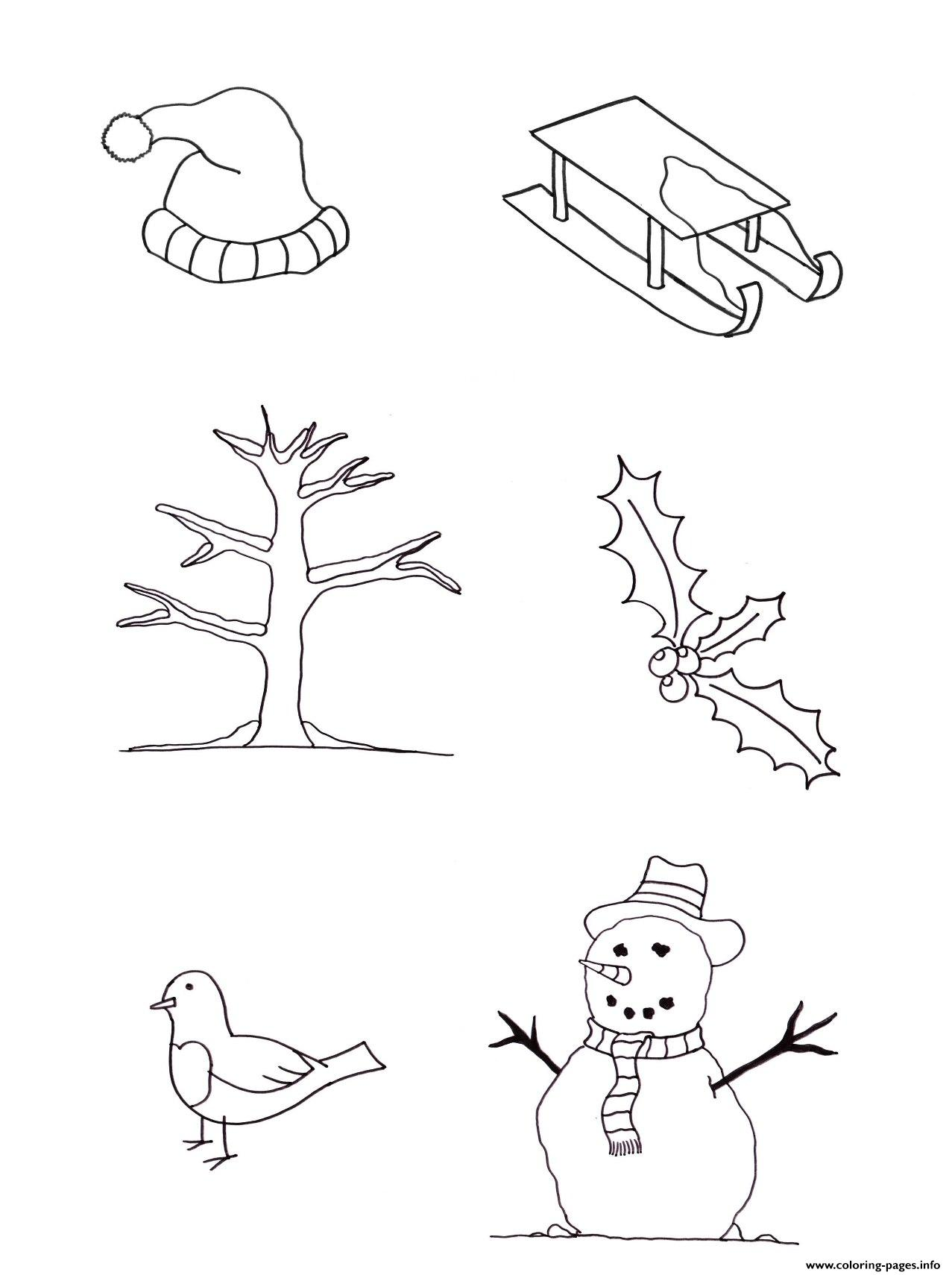 Winter For Kids Free09a1 Coloring Pages Printable
