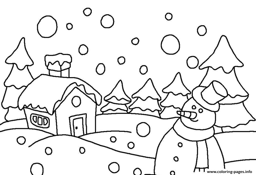 Holiday Winter S6a5f coloring pages