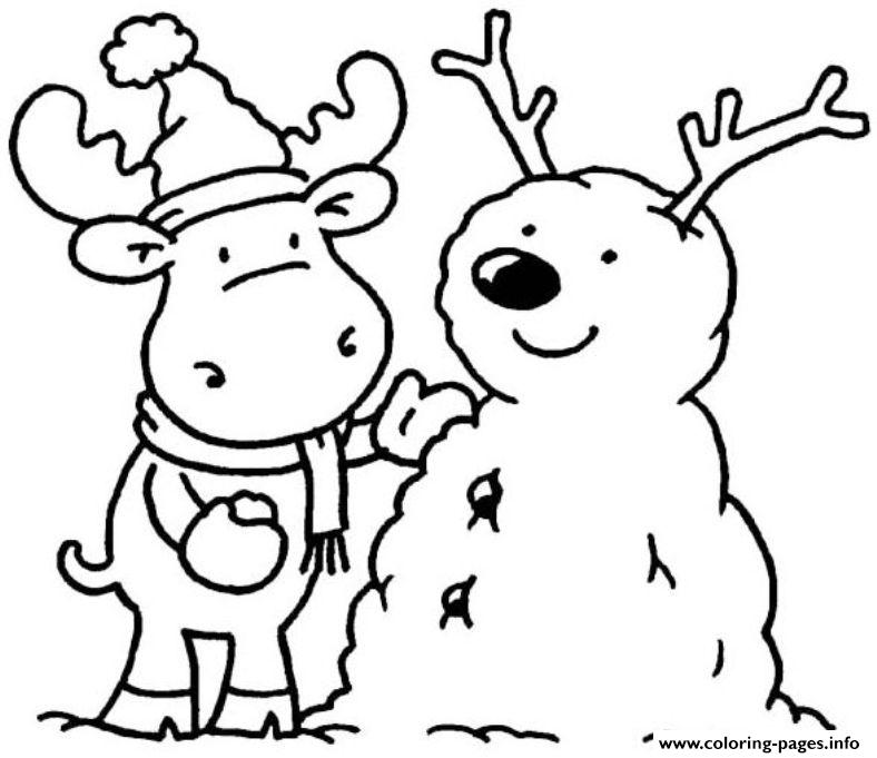 Printable Winter Sdbe6 Coloring Pages