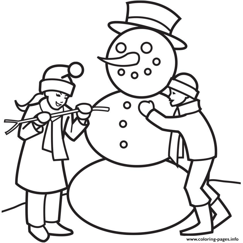 Winter Fun1336 coloring pages