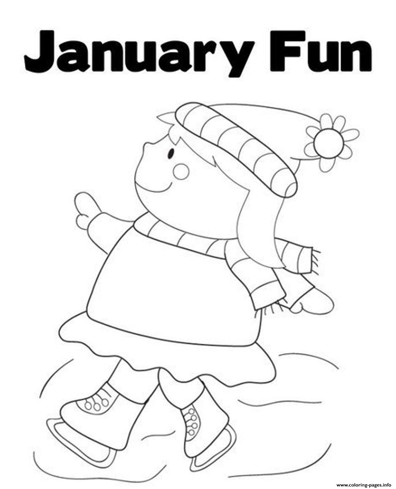 january coloring pages lesson plans - photo#7