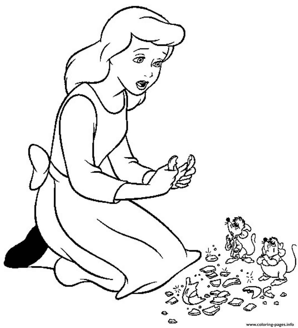 Colouring in pages cinderella - Colouring In Pages Cinderella 80