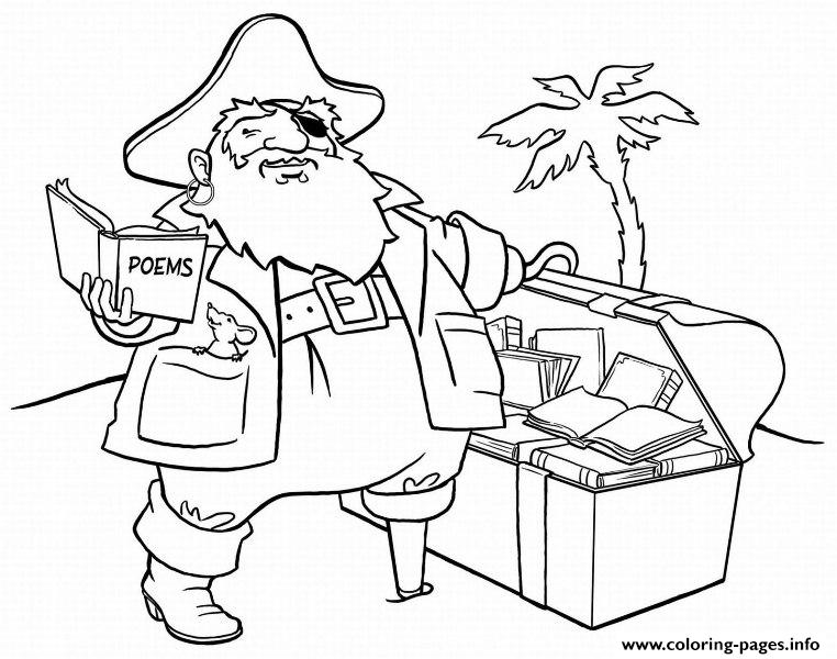 fat romantic pirateceb2 coloring pages