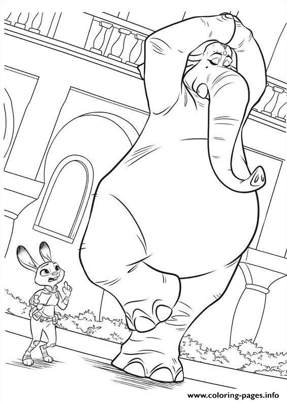 Zootopia 09 Coloring Pages