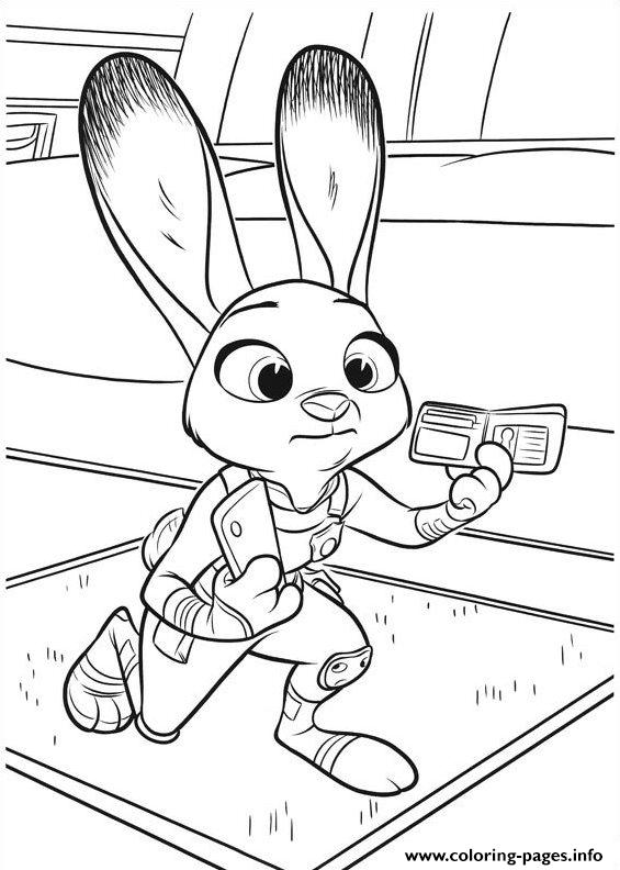 Zootopia 11 Coloring Pages Printable Coloring Pages Zootopia