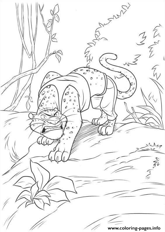 Zootopia 13 coloring pages