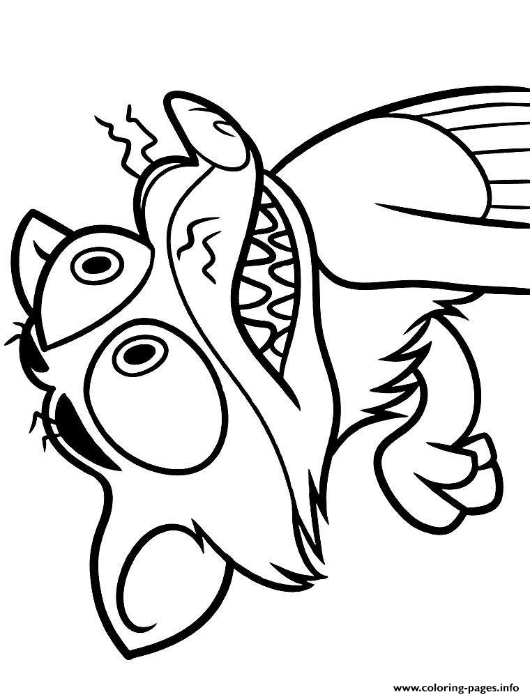 Coloring Page Zootopia : Zootopia duke weaselton coloring pages printable