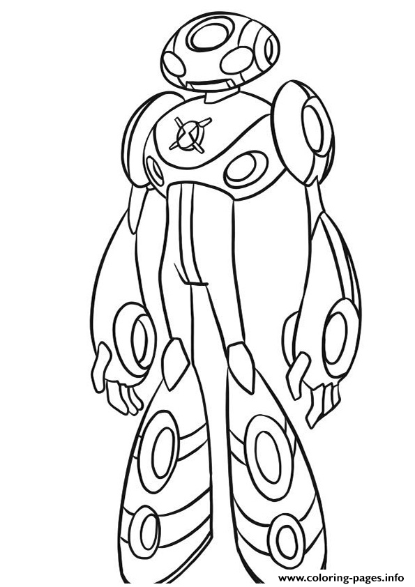 dessin ben 10 24 Coloring pages Printable