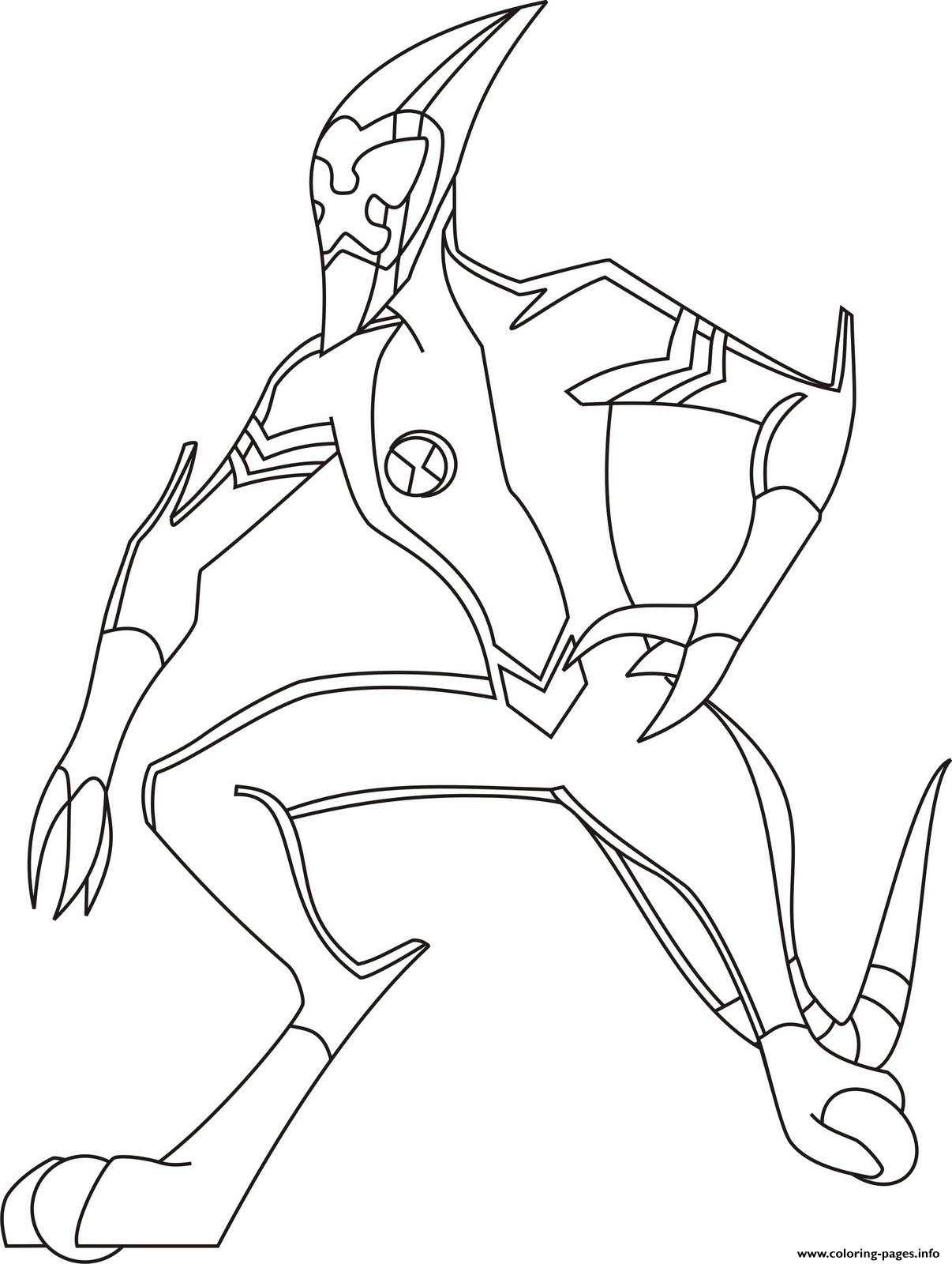 Dessin Ben 10 99 Coloring Pages Printable Benten Coloring Pages