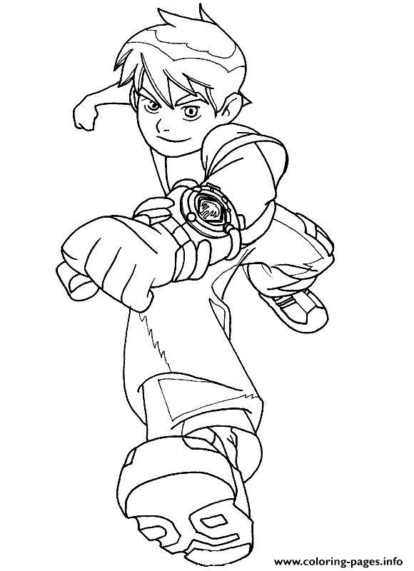 Dessin Ben 10 4 coloring pages